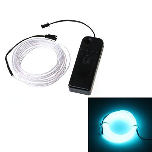 3M Lunghezza EL incandescente luce al Neon