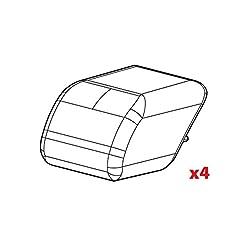 Lampa N99995 Set 4 Tappi Barre Quadra