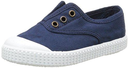 Victoriainglesa lona tintada punt. - scarpe da ginnastica basse unisex - bambini, blu (bleu (30 marino)), 26 eu