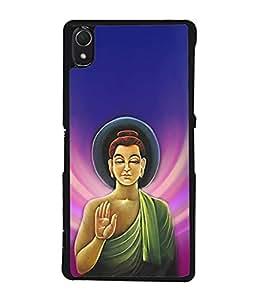 PrintVisa Designer Back Case Cover for Sony Xperia Z1 (siddhartha gautama buddha dev)