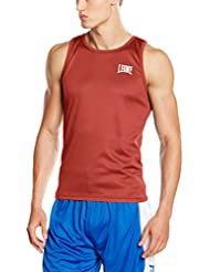 Leona 1947 AB724 camiseta de boxeo, color Rojo - rojo, tamaño L