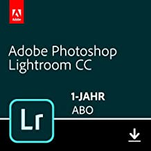 Adobe Photoshop Lightroom CC-Abo | 1 Jahreslizenz | PC/Mac Online Code & Download