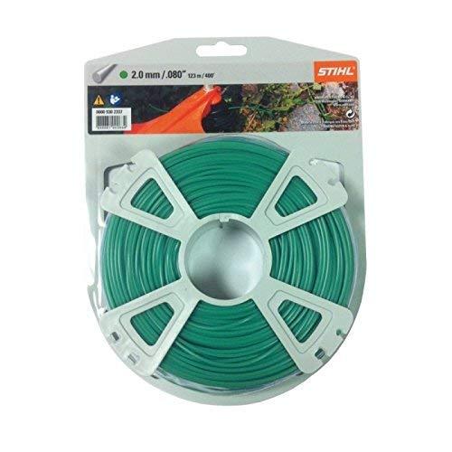 Stihl 2mm x 123M/400FT Nylon Gras Trimmer Schnur Teil Nr. 00009302337 -