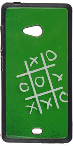 iCandy UV Printed Matte Finish Soft Back cover for Microsoft Lumia 540 -OX  available at amazon for Rs.99