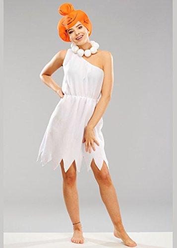 Magic Box Int. Adult Damen Wilma Feuerstein Kostüm L (UK - Adult Kostüm Wilma