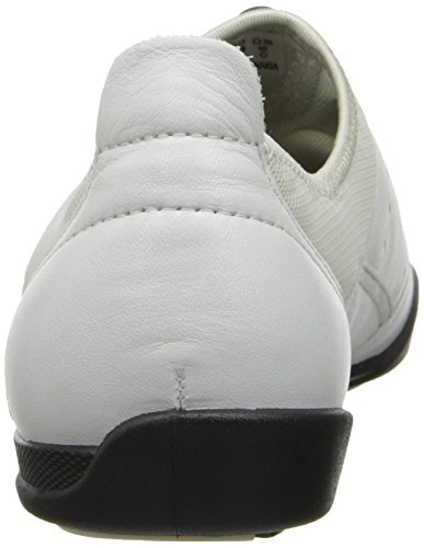 ECCO Women's Bluma Toggle Flat,White,36 EU/5-5.5 M US White
