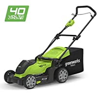 Greenworks Cortacésped inalámbrico de 41cm, 40V Li-Ion (sin batería ni cargador) - 2504707