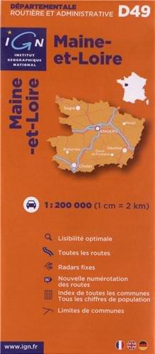 D49 Maine-et-Loire 1/200.000