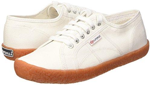 Bianco 36 EU Superga 2750 Naked Cotu Sneakers Low Top da Donna Colore 0t1