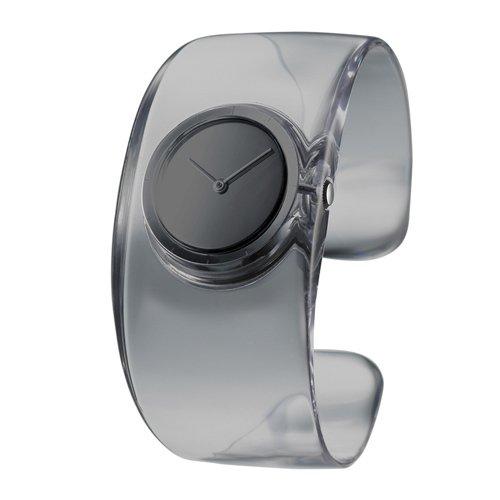 Issey Miyake SILAW002–Reloj de pulsera, correa de plástico
