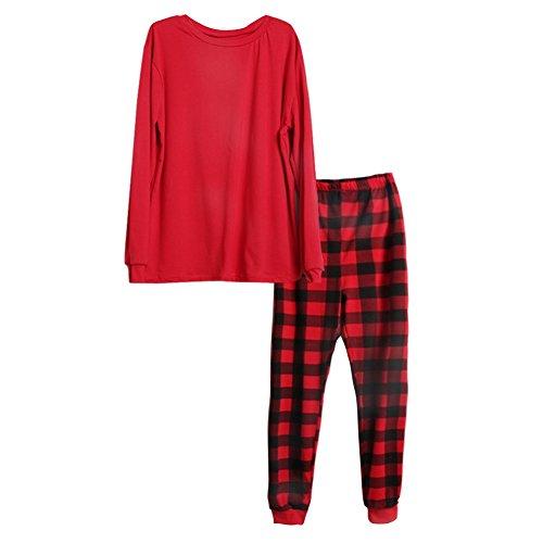er Baby Passenden Familie Weihnachten Pyjamas Sets Weihnachtsgeschenk für Mama Papa Kinder (Passende Mama Und Baby Kostüme)