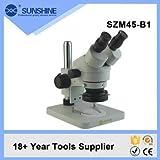 Microscopio con zoom estéreo con lámpara LED SZM45-B1