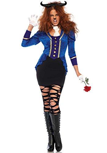 Leg Avenue Beastly Beauty Kostüm, vielfarbig , Größe: Medium (EUR 38/40) (Beauty Beast Halloween Kostüme)