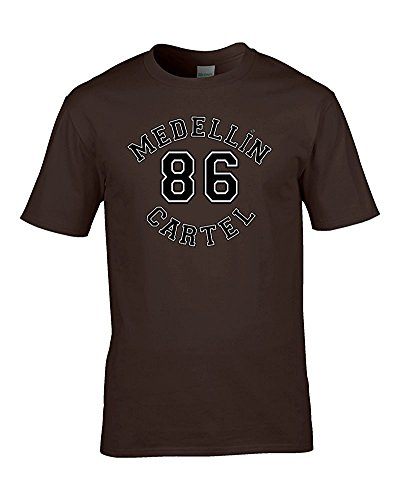 FatCuckoo Herren T-Shirt Braun