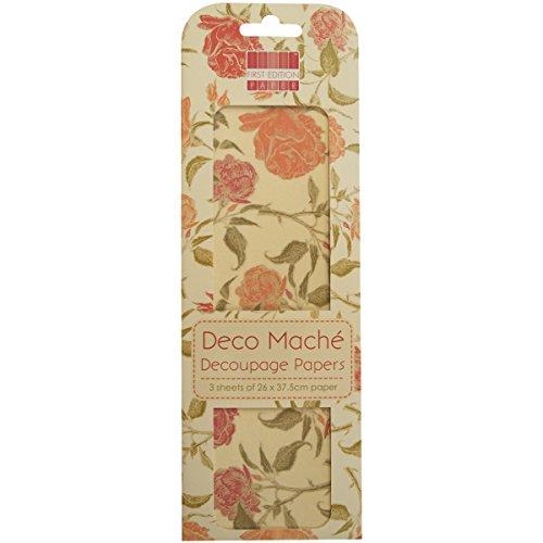 first-edition-paper-papel-deco-mache-ramos-de-rosas-rojas-y-salmon