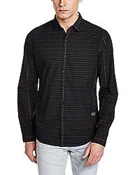 Levis Mens Casual Shirt (6902194259582_28433-0005_XX-Large_Black)