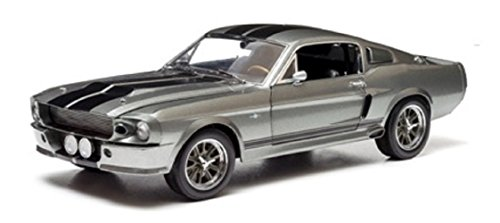 greenlight-collectibles-18220-ford-mustang-shelby-gt-500-custom-eleanor-echelle-1-24-gris-metal-noir