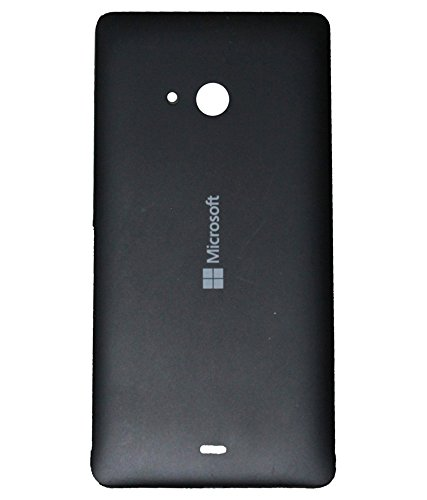 Nkgk Replacement Back Door Cover Panel for Microsoft Nokia Lumia 535 (Black)