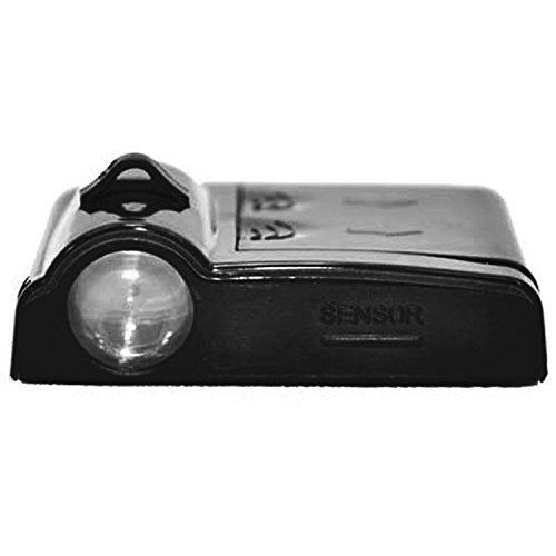 2ST drahtlose Universal Auto Projektion LED Projektor Schatten Logo Licht Willkommen Lampen Courtesy Lights Kit Magnet Türsensor(Weißen Schädel)
