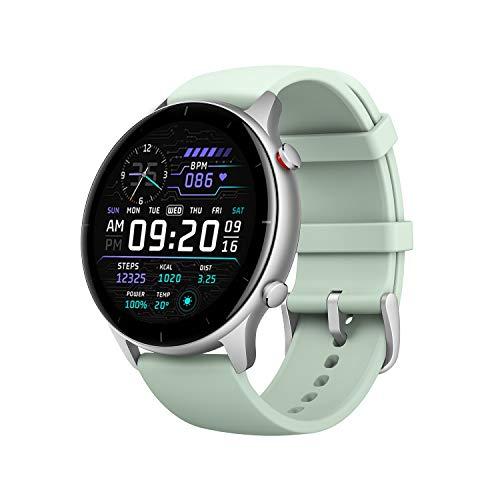 Oferta de Amazfit GTR 2e Smartwatch Reloj Inteligente 90 Modos Deportivo 5 ATM Duración de la batería 24 Días Medición de la saturación de oxígeno en Sangre Verde