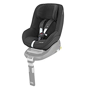 Maxi-Cosi Pearl Toddler Car Seat Group 1, ISOFIX Car Seat, Compact, , 9 Months - 4 Years, 9-18 kg, Nomad Black  Advanced side impact protection - sict offers superior protection to your child in the event of a side collision. reducing impact forces by minimising the distance between the car and the car seat. Secure guard - helps to protect your child's delicate abdominal area by adding an extra - a 4th - contact point to the 3-point seat belt. High back booster - protects your child in 3 ways: provides head to hip protection; belt guides provide correct positioning of the seat belt and the padded headrest provides safety and comfort. 11