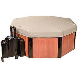 Los años en forma de Whirlpool SPA de N de caja con Soft protectora–La No–1en los Estados Unidos–Todo el año Whirlpool–spa de N de caja a–con Química Starter Set–(150€)–El original patentado–A menudo Copia y nunca Alcanza–Deutsche instrucciones de