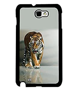 printtech Nature Tiger Back Case Cover for Samsung Galaxy Note 2::Samsung Galaxy Note 2 N7100