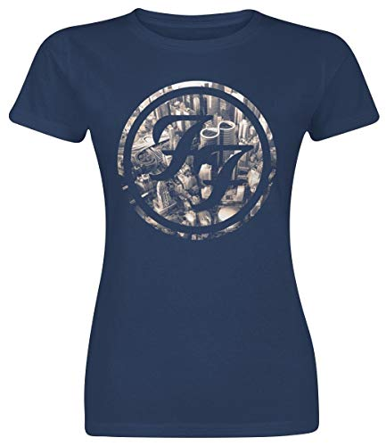 Foo fighters sonic highways maglia donna blu s