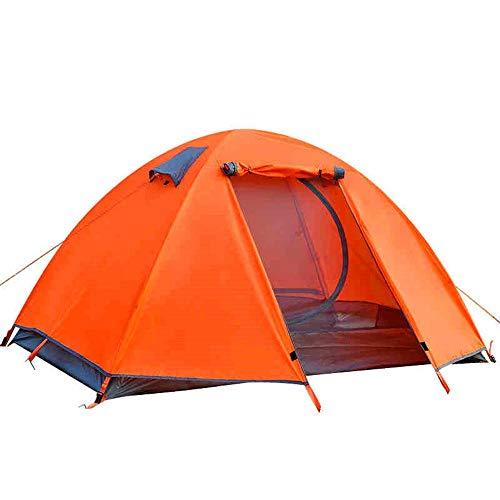 Lhr Outdoor Aluminium Pole Zelt Doppel Doppel Doppeltür Camping Zelt Paar Camping Regendicht, Strand Zelt Outdoor Freizeit Zelt, Schatten Angeln Zelt - Octagon Pole