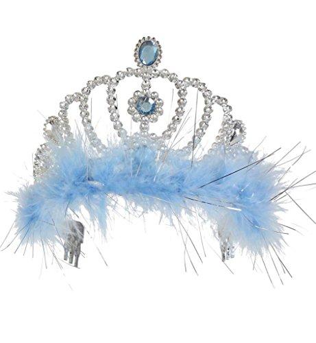 KarnevalsTeufel Diadem Eiskönigin Krone Krönchen Eisprinzessin Schneekönigin Schneeelfe -