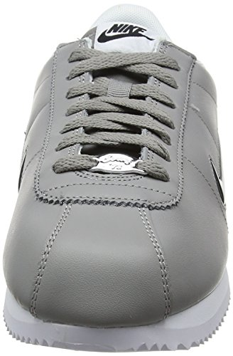 Nike Herren Cortez Basic Jewel Sneaker Grau (Dust/black White)