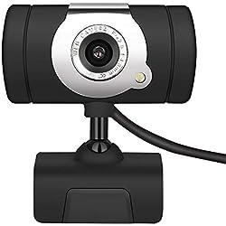 Webcam für PC/Laptop / Mac, Windows XP / 7/8 / 10, USB, 50 MP, 720P HD