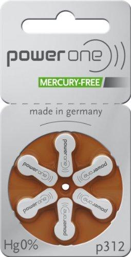 30 x Varta Powerone p312 Mercury Free Quecksilberfrei Hörgerätebatterie