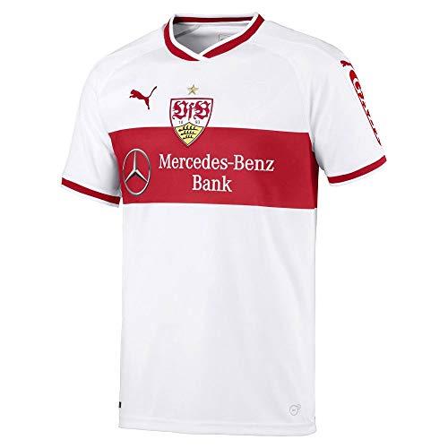 0f074597ec0e0 Puma Men s VfB Stuttgart Home Original Shirt w.Sponsor Jersey