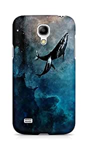 Amez designer printed 3d premium high quality back case cover for Samsung Galaxy S4 Mini (whale ocean )