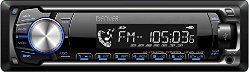 Denver 12517760 RDS FM Stereo Autoradio (USB, MP3, SD-Karte, AUX-In, 4X 45 Watt)