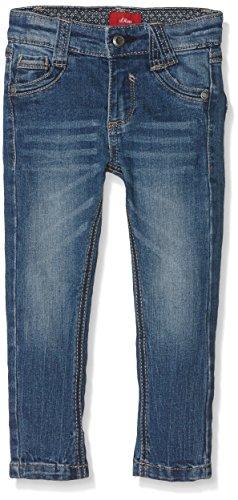 s.Oliver Jungen Jeanshose 63.609.71.2396, Blau (Blue Denim Stretch 56Z7), 116 (Herstellergröße: 116/REG)