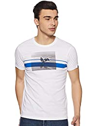 ab86d62b8691 Pepe Jeans Men s Printed Slim fit T-Shirt