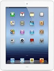 Apple iPad New 32GB White – Tablet (IEEE 802.11n, iOS, Lavagna, iOS, Bianco, Polimeri di litio) (Ricondizionato)