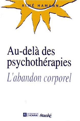 Au delà des psychothérapies