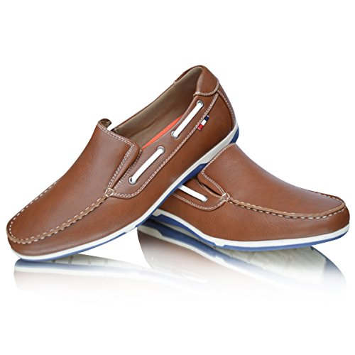 Xelay , Mocassins homme Marron