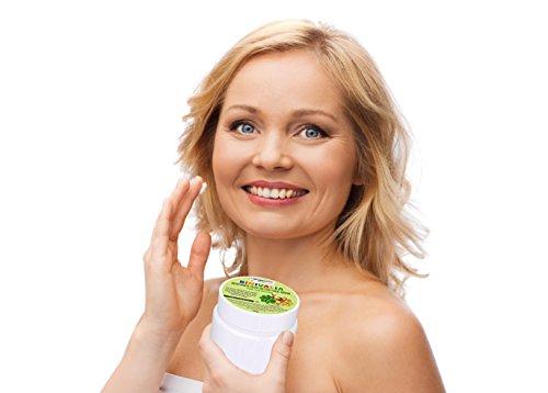 Bentonit lehm gesichtsmaske u für akne mitesser und rosacea auf