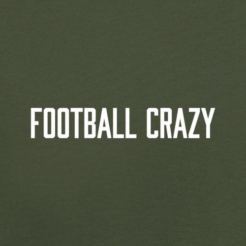 Football Crazy - Herren T-Shirt - 13 Farben Olivgrün