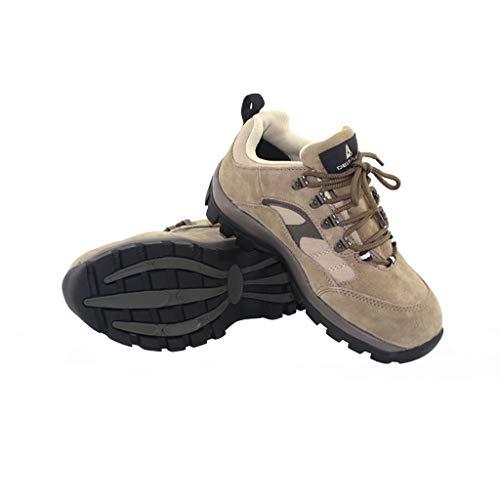 YXWa Ingenieurstiefel Stahlkappe Sneakers für Männer Sicherheitsschuhe Arbeitsschuhe Rutschfeste leichte Wanderersohle Zwischensohle Sportbekleidung für Männer (größe : 44)
