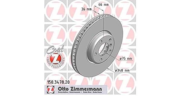 Bremsscheibe für Bremsanlage Vorderachse ZIMMERMANN 150.3478.20