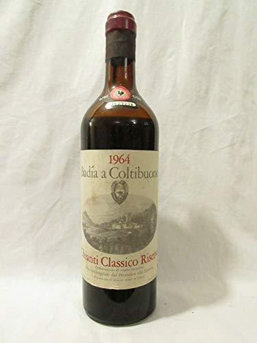 chianti classico badia a coltibuono rouge 1964 - toscane Italie