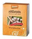 Naturata Bio Würfelzucker aus Rohrohrzucker (2 x 500 gr)