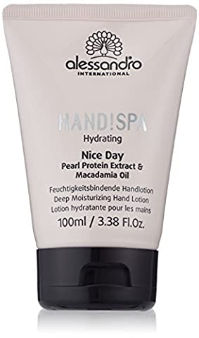 alessandro Hands Spa Hydrating Nice Day Handcreme, 1er Pack (1 x 100 ml)