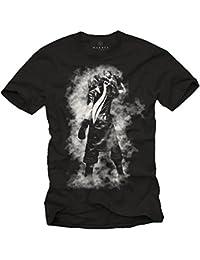 Cadeau Geek Homme - Tee Shirt Fantasy 15 Noir