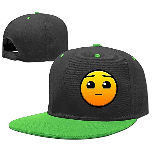 GHEDPO Hüte,Kappen Mützen Adjustable Baseball Cap Hip Hop Hats Geometry Dash Boy-Girl -